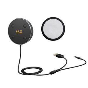 CHARGEUR CD VOITURE Téléphone mains libres Lecteur MP3 FM Bluetooth 3.