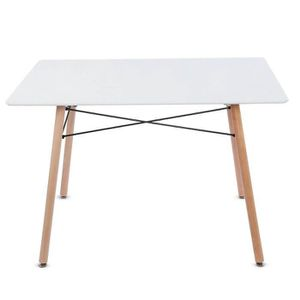 TABLE BASSE LIA 110 *70 *74cm Table de salle à manger moderne