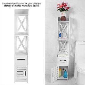 COLONNE - ARMOIRE WC Meuble Colonne de Salle de Bain Armoire Toilette H