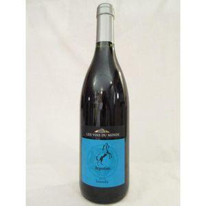 VIN ROUGE bonarda les vins du monde rouge 2012 - mendoza arg