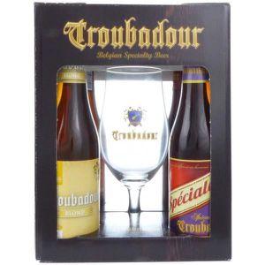 BIÈRE Coffret Troubadour 4x33cl + 1 verre