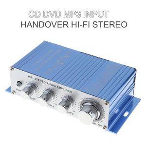 AMPLIFICATEUR AUTO CD / DVD / MP3 entrée amplificateur audio stéréo p