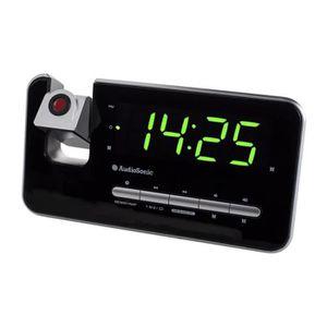 Radio réveil AUDIOSONIC CL-1492 Radio Réveil Projecteur - Régla
