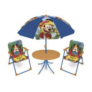MATELAS GONFLABLE DISNEY Salon de Jardin Mickey Mouse Pour Enfant
