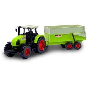VOITURE - CAMION Tracteur Claas avec remorque
