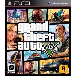 JEU PS3 GTA 5 PS3