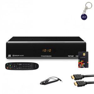 RÉCEPTEUR - DÉCODEUR   THOMSON Récepteur TV satellite HD + Carte TNTSAT V