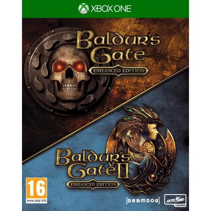 The Baldurs Gate Enhanced Edition Jeu Xbox One