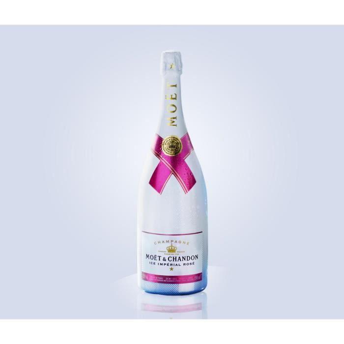 Lot de 3 Champagnes Moët & Chandon Ice Impérial Rosé 75cL