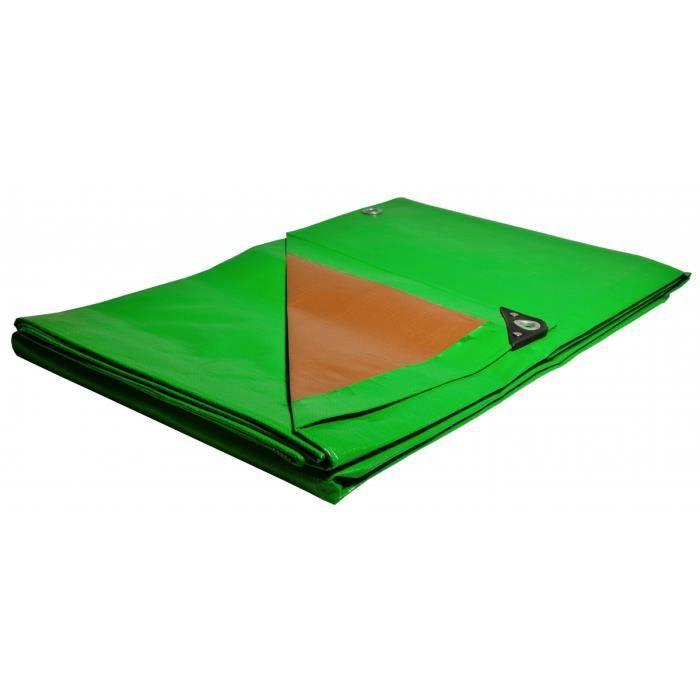 Toile Pegola et Tonnelle 5 x 8 m Traitée Anti UV Polyéthylène Haute Qualité