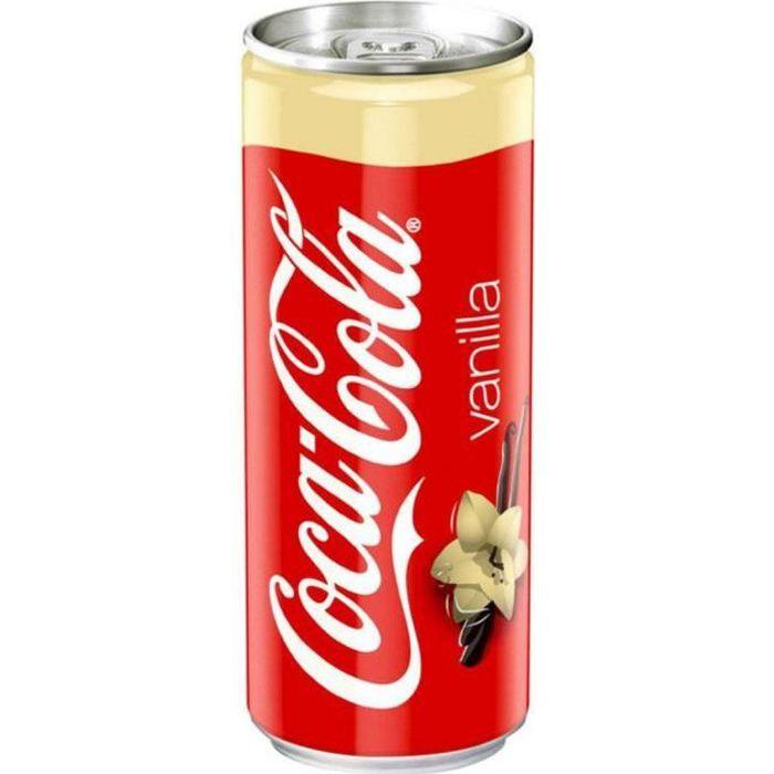 Coca-Cola Vanille 33cl (pack de 24)