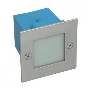 Applique LED extérieur encastrable carré - Couleur