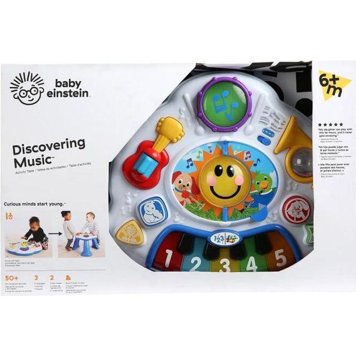 BABY EINSTEIN Table multi-activités Discovering Music™ - Multi Coloris