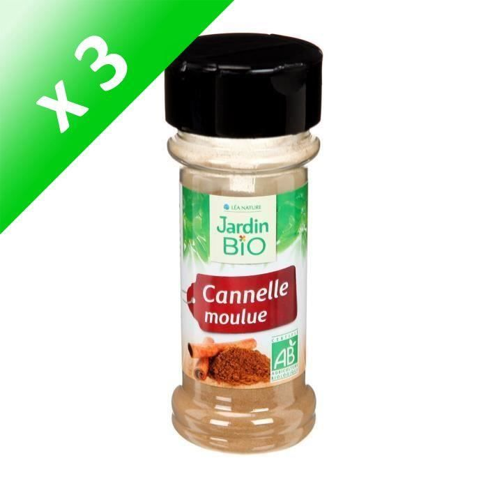 [LOT DE 3] JARDIN BIO Cannelle moulue bio - 25 g