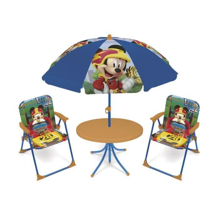 DISNEY Salon de Jardin Mickey Mouse Pour Enfant