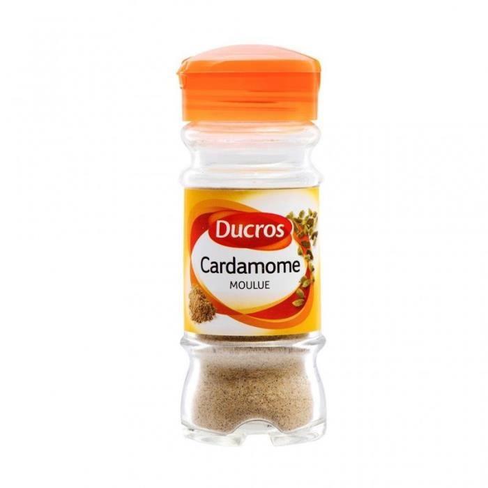 Ducros Cardamome Moulue 35g (lot de 3)