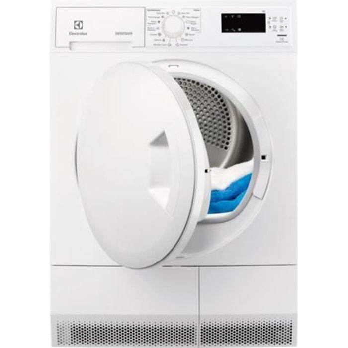 Electrolux GentleCare EDH3674PDE Sèche-linge indépendant largeur : 60 cm profondeur : 60 cm hauteur : 85 cm chargement frontal