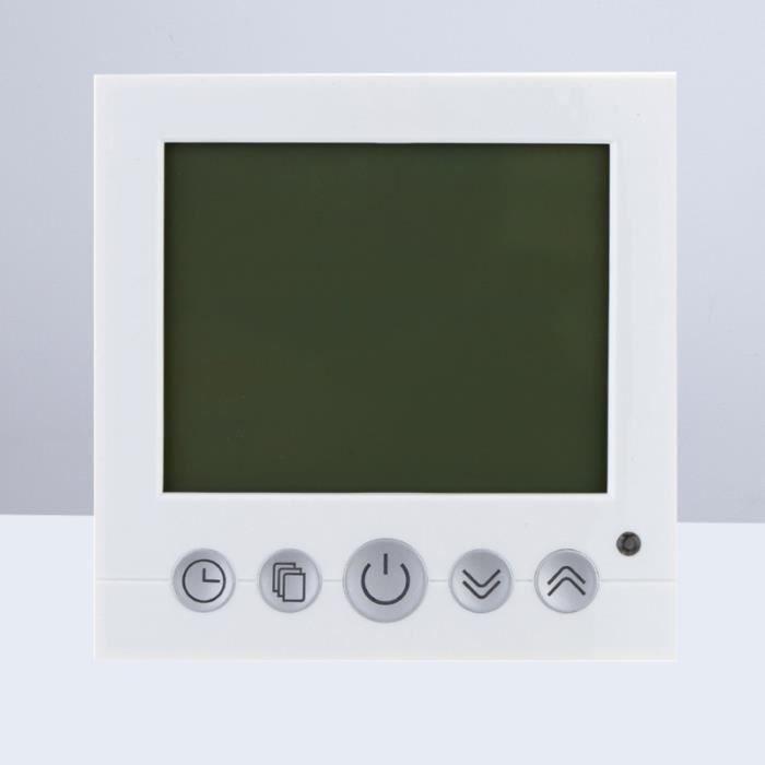 AC 230V LCD Controlleur de Température de Chauffage plaque de cuisson posable petit appareil de cuisson