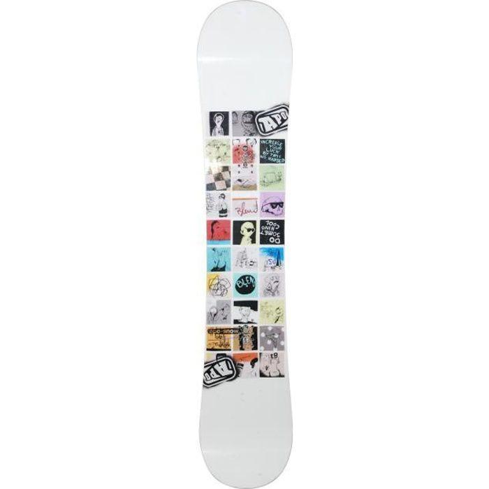 Snowboard Apo Blend + fixation coque