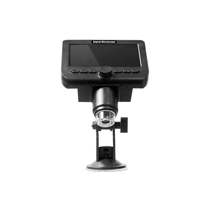 Caméra de microscope 1080p HDMI USB WIFI Digital avec objectif 1000X 8 lumière LED