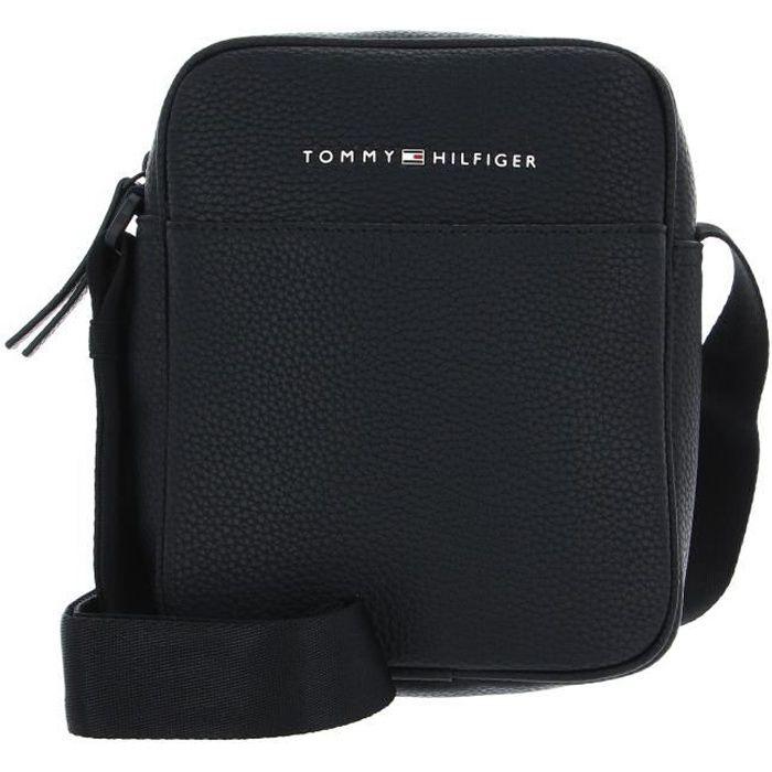 TOMMY HILFIGER Essential Mini Reporter Black [141799] - sac à épaule bandoulière sacoche