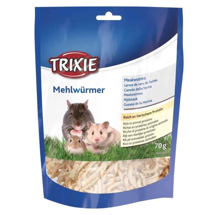 Larves de vers de farine séchés - 70 g