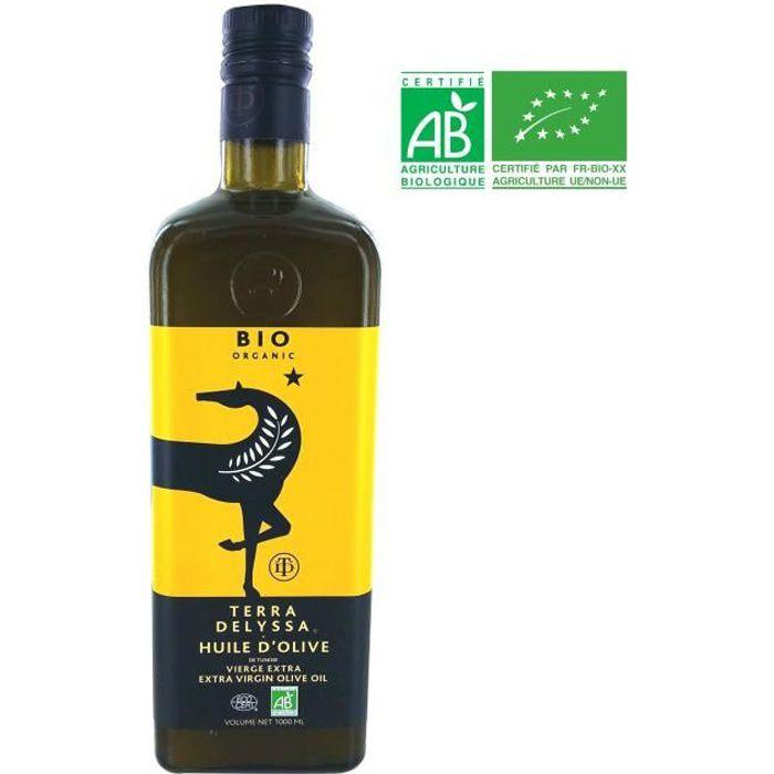 TERRA DELYSSA Huile d'Olive Bio - 1 L