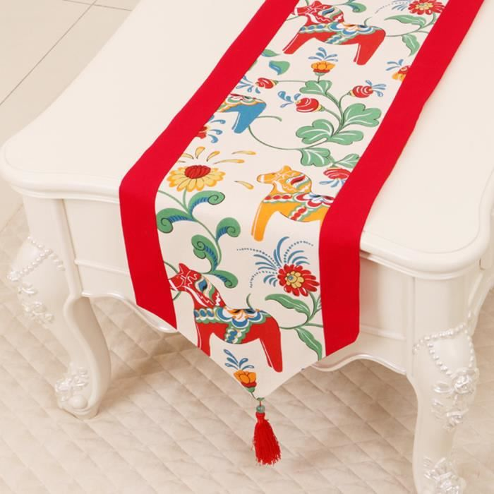 Chemin de table rose linge de table nappe soie qualit art table moderne d corations de no l Linge de table luxe