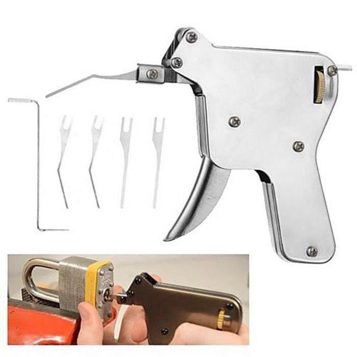 Nouveau Kit Ouvre-porte Bosse Outil Clé Fort Lock pick gun réparation outil serrurier Set
