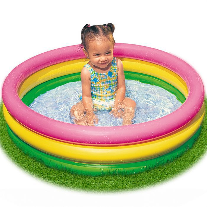 Piscine gonflable enfant 86 x 25 cm achat vente for Piscine 86