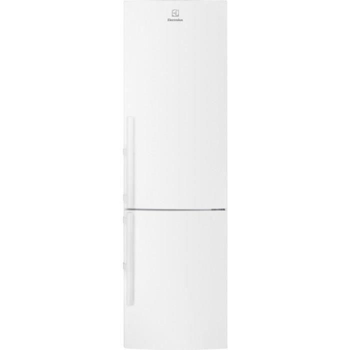 RÉFRIGÉRATEUR CLASSIQUE ELECTROLUX  - EN3858MFW -  Réfrigérateur combiné -
