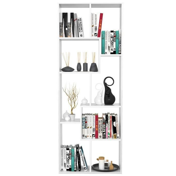 bibliotheque largeur 60 cm achat vente pas cher. Black Bedroom Furniture Sets. Home Design Ideas
