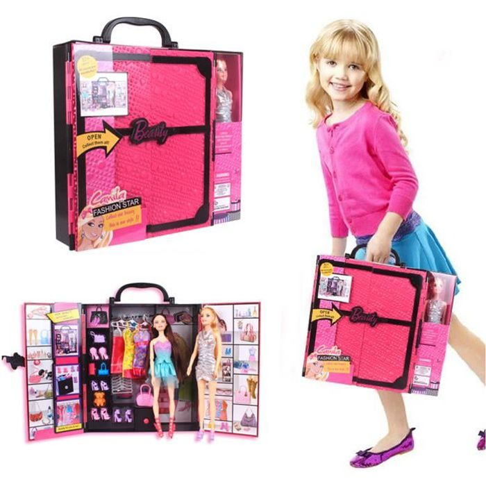 poup e barbie princesse fashionista jouet maison de jeu ensemble fille cadeau no l r ver. Black Bedroom Furniture Sets. Home Design Ideas