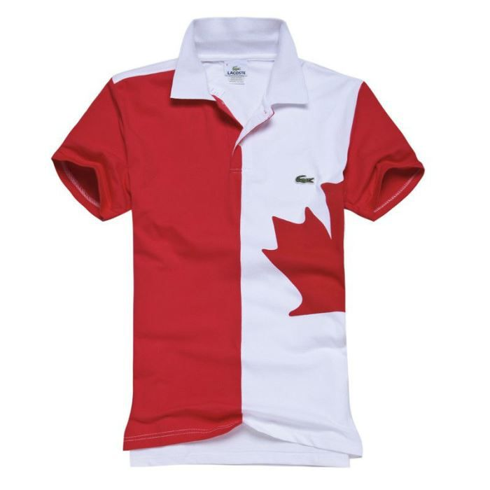Lacoste polo canada for Custom polo shirts canada