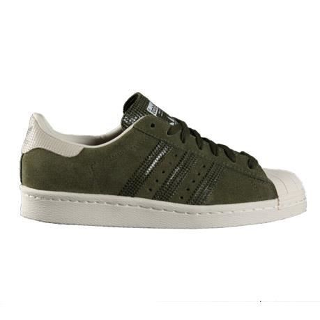 Adidas Baskets SUPERSTAR 80S DAMES Kaki Vert