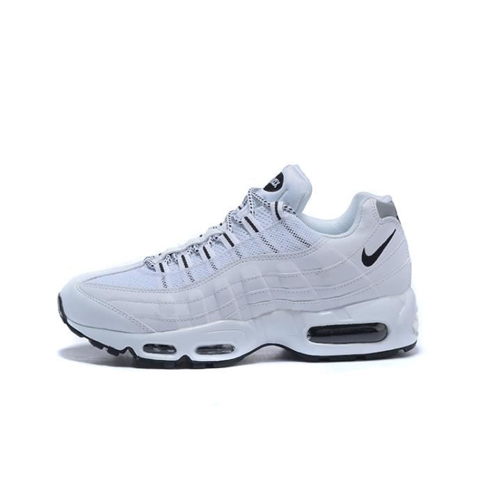Nike Air Max 95 Chaussure pour Homme Blanc - Cdiscount Chaussures