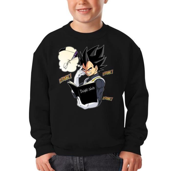 PULL Pull Enfant Noir Dragon Ball Super - Death Note pa