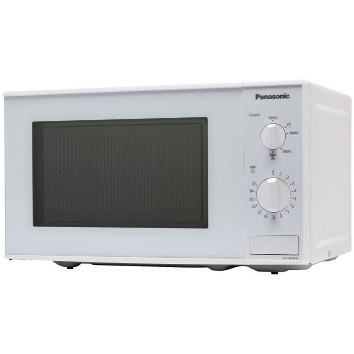 panasonic panasocic nn e201wmepg four micro ondes monofonction blanc 20l 800w pose. Black Bedroom Furniture Sets. Home Design Ideas
