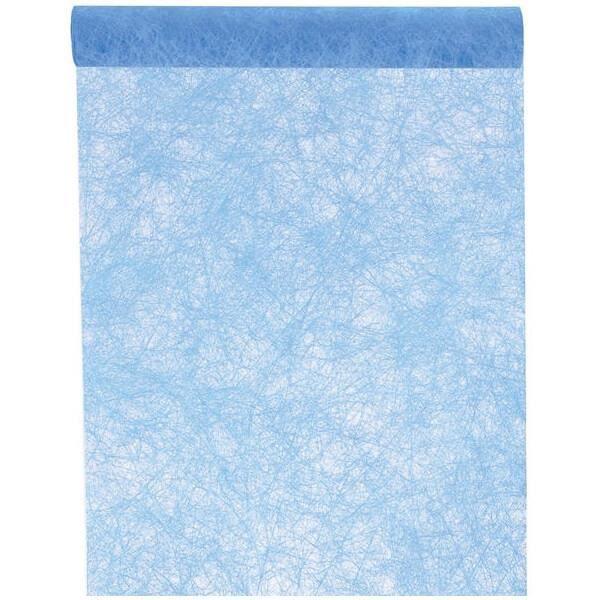 CHEMIN DE TABLE JETABLE Chemin de table fanon bleu turquoise 30cm x 25m (x