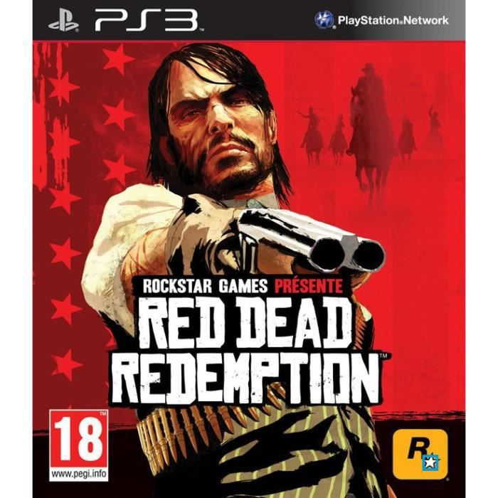 JEU PS3 PS3 RED DEAD REDEMPTION LIMITED EDITION