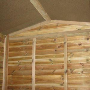 GARAGE Magnifique vidaXL Abri de jardin en bois de pin im