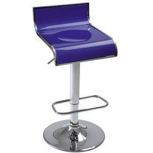TABOURET DE BAR Tabouret de Bar Réglable Pivotant à 360° Chaise Cu
