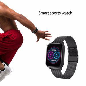 MONTRE CONNECTÉE R6 Smartwatch Tensiomètre Cardiaque Moniteur De Su