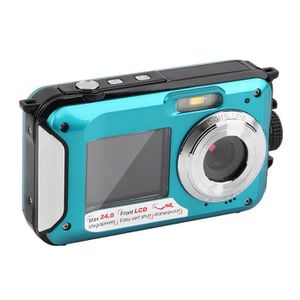 APPAREIL PHOTO COMPACT 2.7inch TFT Digital Camera Waterproof 24MP MAX 108
