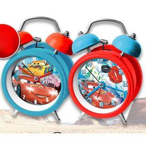 RÉVEIL ENFANT Réveil Cars rouge et bleu