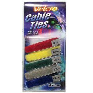 OUTILS - FIXATION Attache câble velcro Azona CT-103 5 pièces