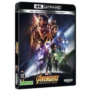 BLU-RAY FILM Avengers Infinity War - 4K + Blu-Ray 2D + bonus [4