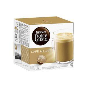 CAFÉ Dolce Gusto - Café au lait -lot de 64 capsules
