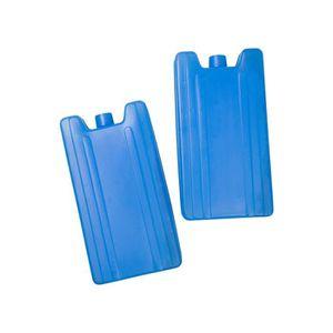 CM 3 Mini Petit Pains De Glace Bloc R/éfrig/érant Glaci/ères Bleu 8X7,5cm