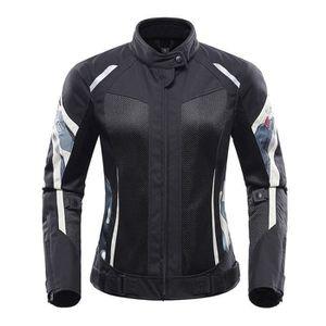BLOUSON - VESTE Blouson de Moto Femme Aération Avec Support Protec